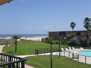 Stay right on the beach while enjoying a luxury condo!