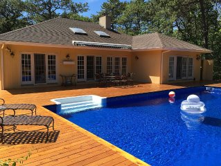 Luxury Hamptons Vacation Home With Heated Pool, Hot Tub & Brand New Tennis Court
