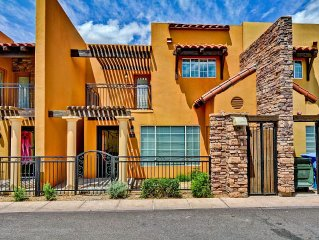 Luxury 2 Bdrm/2.5 Bath Townhome In Prestigious N/Central Phoenix w/ Garage