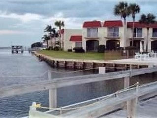Pt Matanzas Townhouse - Waterfront/Intracoastal*Crescent Bch