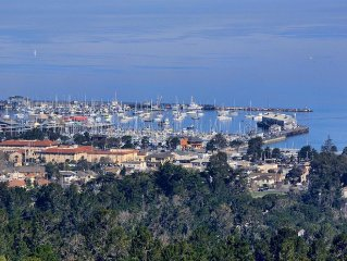 Stunning Monterey Bay Harbor View at your Fingert