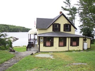 Best view in East  Boothbay , Maine - 4 Bedroom Oceanfront Cottage