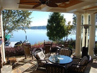 Waterfront Home at Lake Oconee with Pool, Spa, and private dock