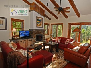 Laid-Back Luxury Chalet, great location near Pioneer beginner lift