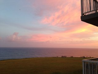 Ocean Bluff! Whale Watching!  Resort Living!