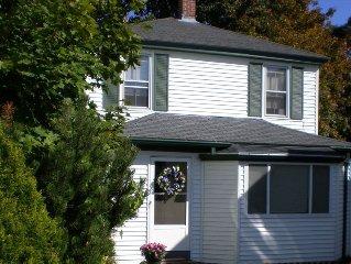 Fully Restored Blue Rose Cottage in the Heart of Bar Harbor Village!