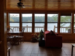 Charming Cabin On Water's Edge Suitable For Any Age, Great Location & Amenities.