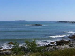 Breathtaking Oceanfront Views From A Bold Rocky Bluff In Scenic DownEast Maine