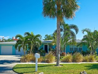 'THE LILIES' - Executive Clearwater Beach Home in Carlouel; 3 minutes from beach