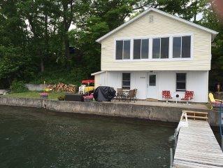 Newly renovated Keuka Lake Cottage.