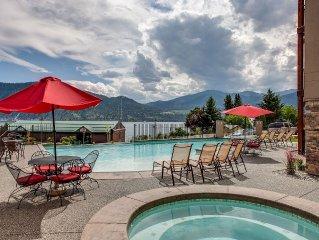 Top Floor-pool, Hot Tub, Incredible Views, Walk To Downtown Wineries