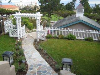 Beautiful Mediterranian Pacific Grove Villa /Ocean View Walk To Town.