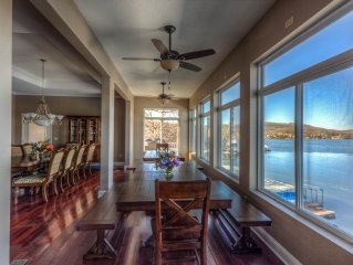 Family Fun Lakefront Vacation Home #5 of 12 homes, 7 bd, Sleeps 34, 7500 sq. ft
