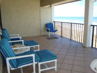 Oceanfront 3 BR Condo, Heart of Jax Beach, Near TPC & Mayo