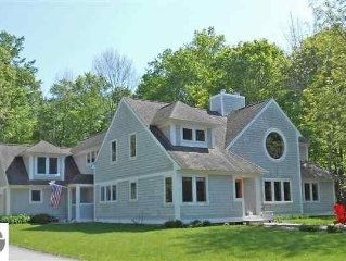 Private, Quite, Waterfront Home with 114 feet of Beach on Suttons Bay