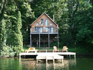 900 Square Foot Log Home In The Heart Of Western Ny - Sleeps 6 Comfortably