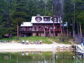 Beautiful Pinto Point Bay Lakefront Cabin Sleeps 16