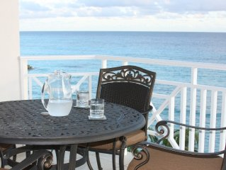 Fully equipped and outfitted, spacious ocean front condo