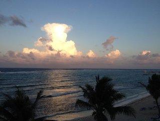 WYNDHAM REEF RESORT Beachfront Condo- TOP FLOOR/END UNIT/PRIVATE/QUIET/RELAXING!