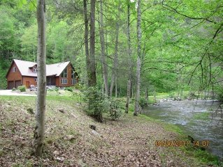 Water's Edge Cabin (Trout Stream Near Hot Springs)