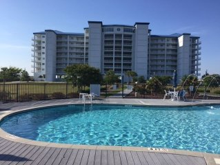 Gorgeous Soundfront Condo Midway Between Atlantic Beach And Emerald Isle.