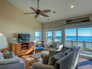 Spectacular Oceanfront 4BR - Stunning Views of Ocean and Sound