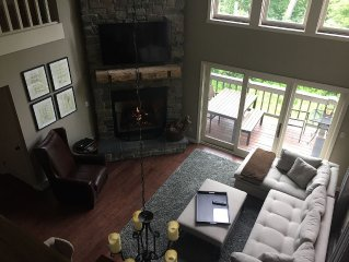 LUXURY 4 BR Ski In/ Out Condo with Hot Tub at Peek n Peak, Direct Rates