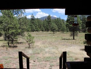 'The Pines' Is The Perfect Log Cabin Getaway In The Beautiful Jemez Mtns.