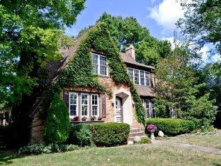 English Tudor with pool located in the Heart of Harbor Country