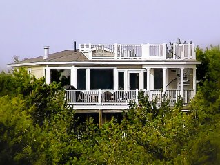Ocean Front, 6 Bedroom, wide natural beach and dunes              Sorry no Proms