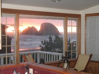 Limited time.OCEAN VIEW FROM EVERY ROOM!   ONE MINUTE WALK TO THE BEACH