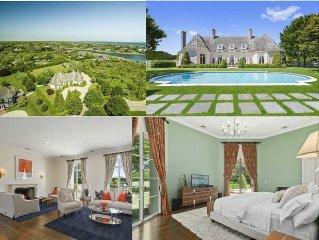 Bridgehampton South Grand Estate Home, Newly Decorated Close To Ocean Beach