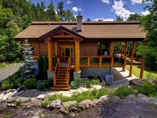 Perfect for nature lovers and 1/2 way between Montreal and Tremblant