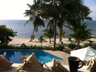'Casa Ixchel' 2BR/2BA OCEANFRONT,JACUZZI,P00L; Why to stay with us!