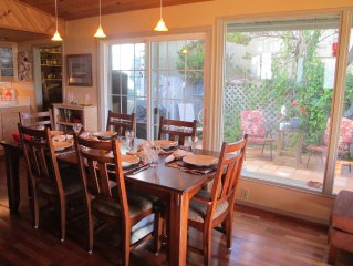 PlayaZul: Cozy, Classy Cottage 1/2 block from the ocean
