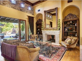 Tuscan Celebrity Estate, An Entertainers Dream Home 8 Rooms plus extra sleeping
