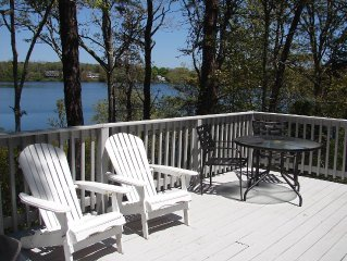 Cape Cod cottage on Long Pond and the bike trail. Updated kitchen and bathroom.