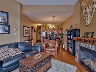 Inviting 2 bedroom 2 bathroom condo in Settlers Crossing Sun Peaks