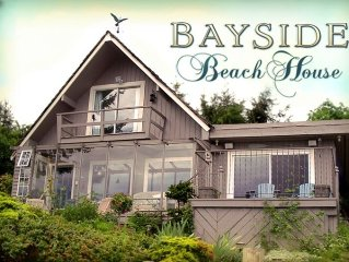 Bayside Beach House, an Exquisite Ocean Front Retreat!