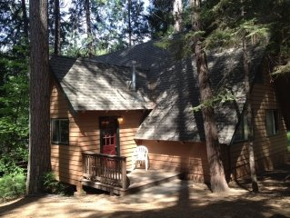 Perfect Location!  50 Feet to Blue Lake Springs Recreation Area from your cabin!
