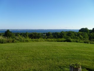 Panoramic Views of Little Traverse Bay in Harbor Springs