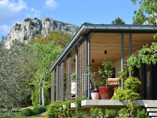 Fabulous rambling contemporary home in Les Baux, near Maussane and St Remy