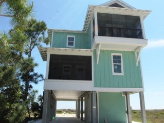 Reserve for Summer only 500.00 Deposit!  GULF FRONT HOME
