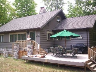 Boyne Area Vacation Cottage - Two Families or More Can Gather