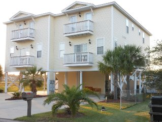 *MAY DISCOUNT SPECIAL 5 BR/5.5BA/1BLK frm Beach/Pvt Pool/PET FRIENDLY/Marsh with