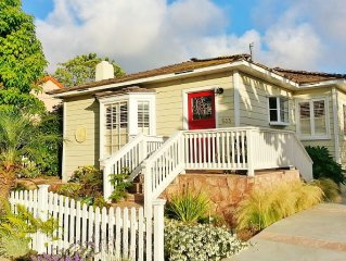 Beautiful 1940's La Jolla Beach Cottage and Gardens