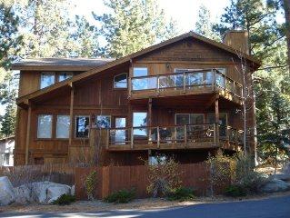 Wonderful Lake Tahoe Home with Beach and Skiing Nearby.