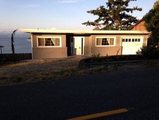 Camano Island View Home With Boat