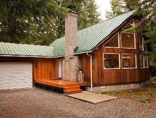 Beautiful Home W/Hot Tub Near Crystal And Rainier