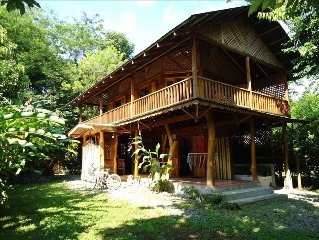 Casa Del Caribe for Rent in Cocles, 300 meters from beach